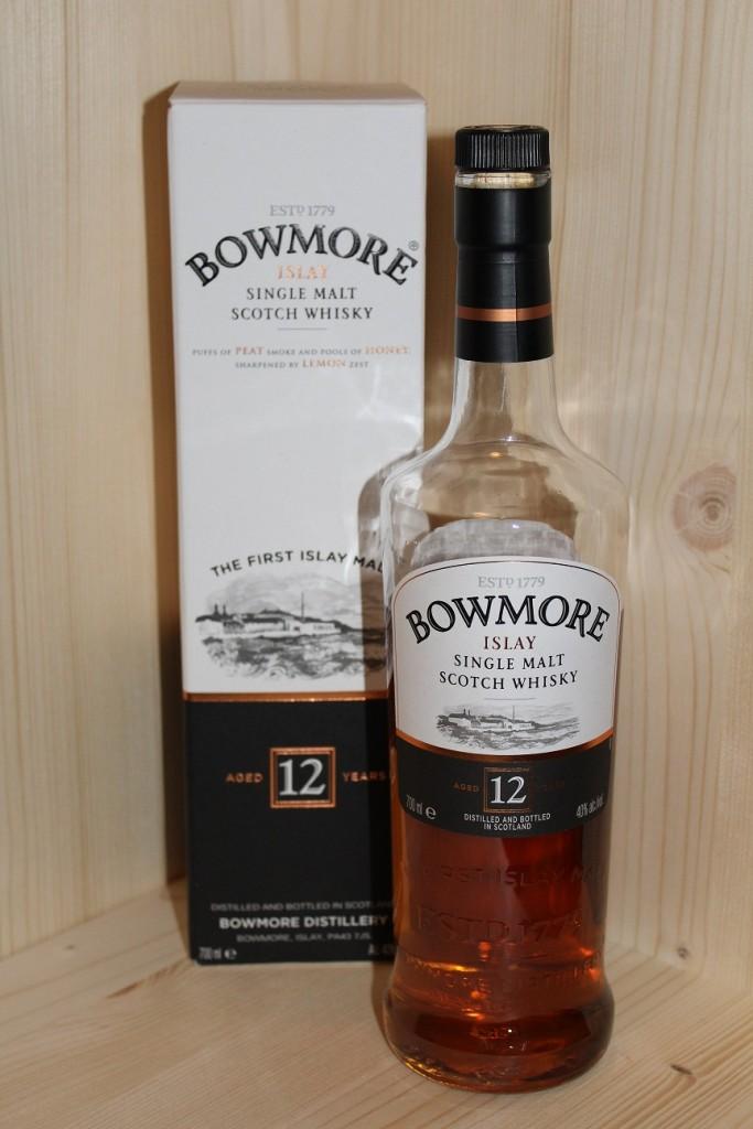 Das Design des Bowmore 12, enthält viele schöne Details.