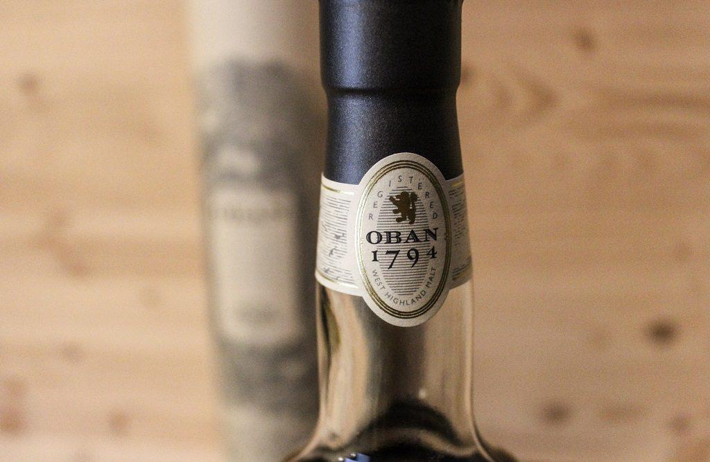 Der Flaschenhals des Oban 14.