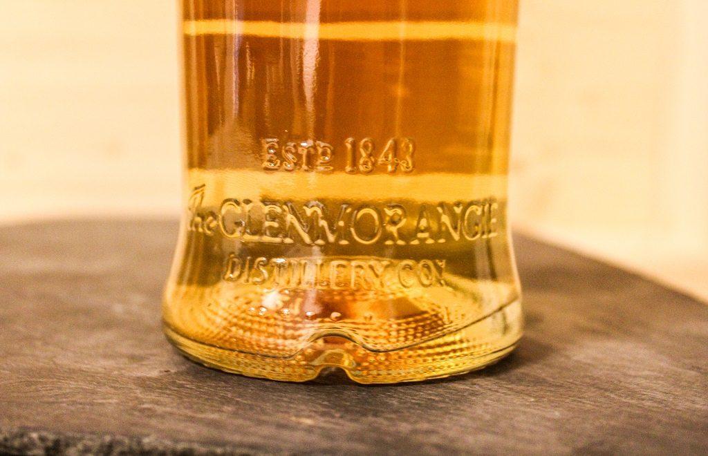 Die Prägung auf dem Glenmorangie Original ist sehr gut gelungen.