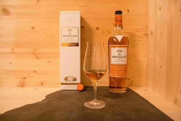 Der Macallan Amber, ein Single Malt von der Speyside Schottlands.