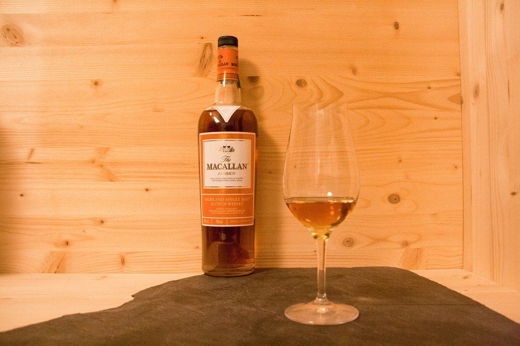 Der Macallan Amber ist ein sehr gelungener Single Malt Whisky der Brennerei.