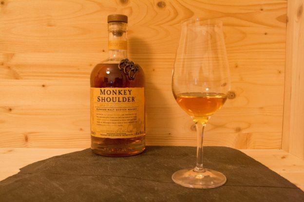 Der Monkey Shoulder blended Scotch Whisky aus der Speyside hat im Tasting überrascht.