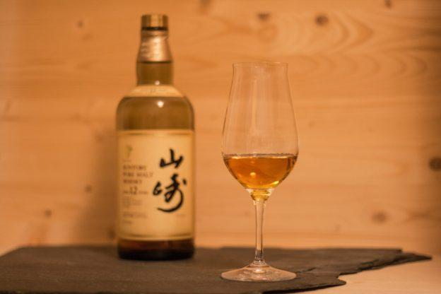 Der Yamazaki 12, ein japanischer Single Malt Whisky von Suntory.