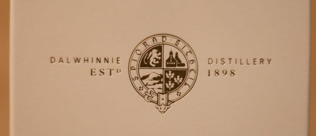 Das schöne Siegel auf der Verpackung des Dalwhinnie 12.